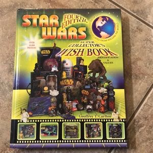 Star Wars Super Collector's Wish Book Hard Cover